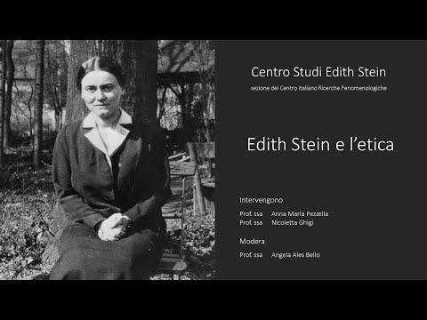 Incontro su Edith Stein e l'etica 9 Maggio 2020